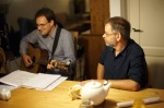 De schrijvers van Blauwgras: Thomas Heesters en Ad van den Kieboom